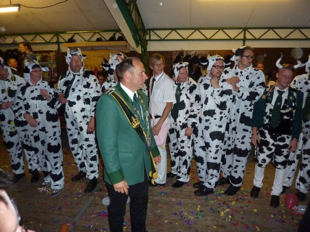Der Dornicker Karnevalsverein gratuliert