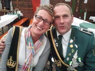 Königspaar 2013: Michaela und Hugo