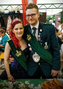 Unser Königspaar 2016: Bianca und Richel Vedder